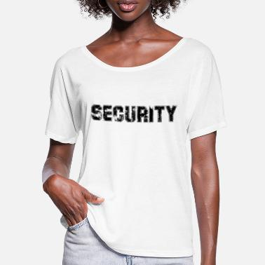 Secure Security - Security - Security - Protection - Women's Batwing T-Shirt