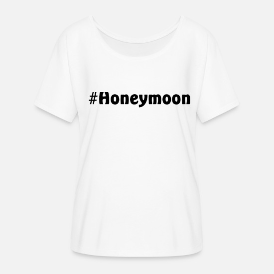 Bride T-Shirts - Honeymoon - Women's Batwing T-Shirt white