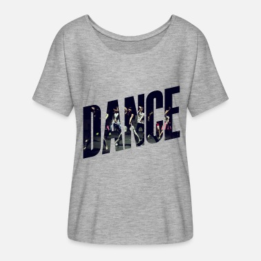 Contemporary Dance Dance - Women's Batwing-Sleeve T-Shirt by Bella + Canvas
