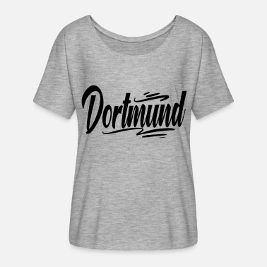 Stadium Seats Dortmund - Women's Batwing-Sleeve T-Shirt by Bella + Canvas