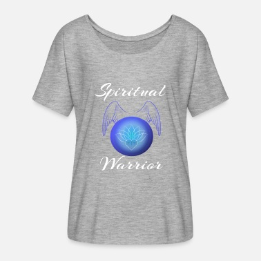 Spiritual Warrior Design for spirituality lovers - Women's Batwing-Sleeve T-Shirt by Bella + Canvas
