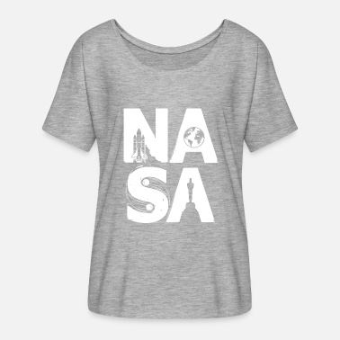 Nasa NASA - limited style - Women's Batwing-Sleeve T-Shirt by Bella + Canvas