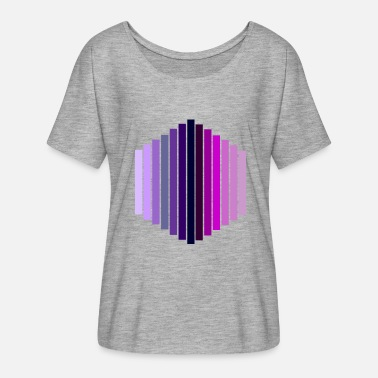 Hexagon hexagon - Women's Batwing T-Shirt