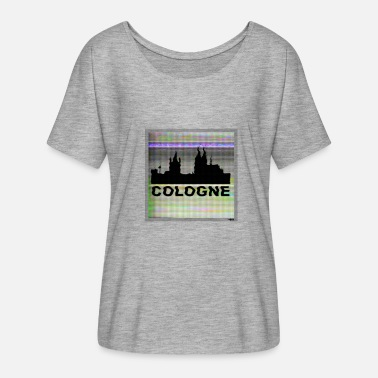 Officialbrands Colonia M1 // odysee - Camiseta mujer con mangas murciélago