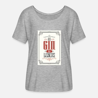 Dorm The gin of life poster - Women's Batwing T-Shirt