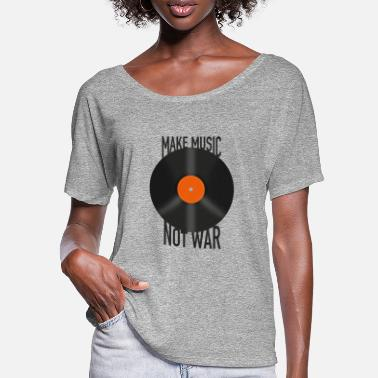 Make Music Make Music was not - Women's Batwing T-Shirt