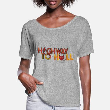 Highway To Hell Highway to hell - Women's Batwing T-Shirt