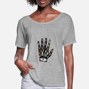 Javier Another hand - Women's Batwing T-Shirt