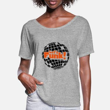 Blaxploitation Discoball - Women's Batwing T-Shirt