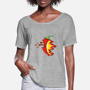 Chilli Chilli - Frauen Fledermaus T-Shirt