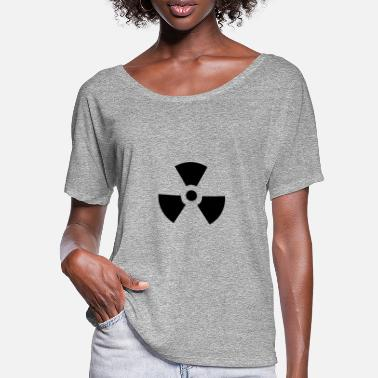 Atomic Atomic Hazard - Frauen Fledermaus T-Shirt