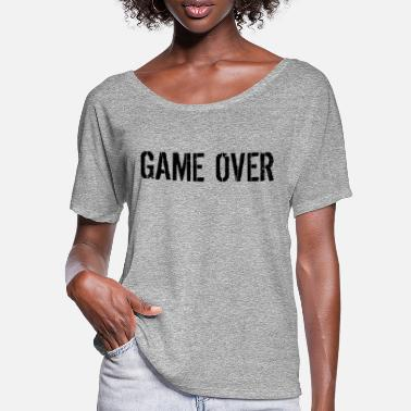 Game Over Game over - T-shirt manches chauve-souris Femme