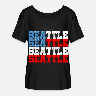 Seattle Seattle - Women's Batwing T-Shirt