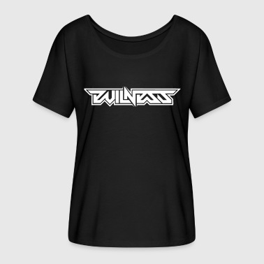 DJ Evilness - Women's Batwing-Sleeve T-Shirt by Bella + Canvas
