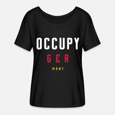 Occupy OCCUPY GERMANY - Women's Batwing T-Shirt