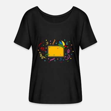 Rio Carnival Village sign carnival carnival Carnival - Women's Batwing-Sleeve T-Shirt by Bella + Canvas