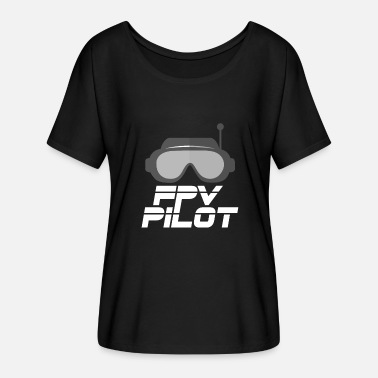 Fpv FPV pilot - Women's Batwing-Sleeve T-Shirt by Bella + Canvas
