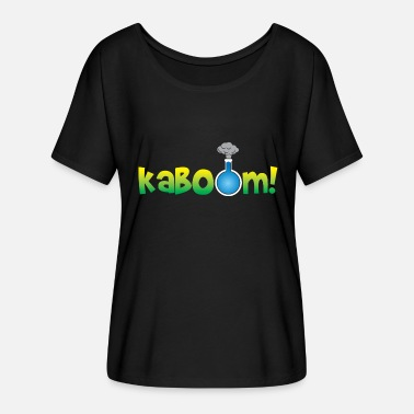 Kaboom Kaboom Science Experiment Laboratory Geschenkidee - Frauen Fledermaus T-Shirt