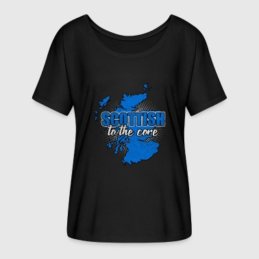 Nationen Schottland Nation Edinburgh Nation Nationalitaet - Frauen T-Shirt mit Fledermausärmeln von Bella + Canvas