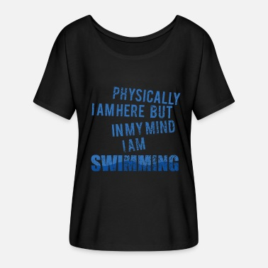 Backstroke Backstroke crawl swim swimmer gift - Women's Batwing T-Shirt