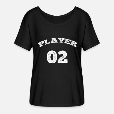 02 TRICOT jersey number 2 player gifts shirts - Women's Batwing-Sleeve T-Shirt by Bella + Canvas
