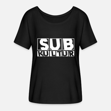 Subculture 23 0127 subculture - Women's Batwing-Sleeve T-Shirt by Bella + Canvas