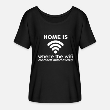 Wifi WiFi Wifi - Women's Batwing-Sleeve T-Shirt by Bella + Canvas