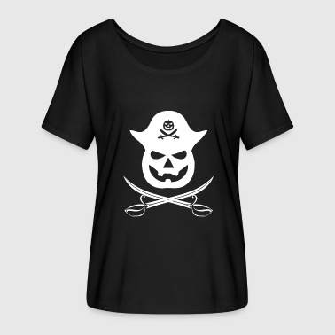 Pirate, pirate, pirate ship - Women's Batwing-Sleeve T-Shirt by Bella + Canvas