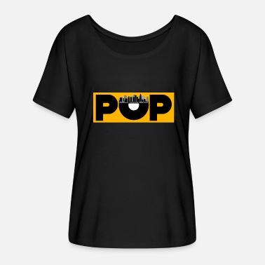 Pop Star Pop music - Women's Batwing-Sleeve T-Shirt by Bella + Canvas