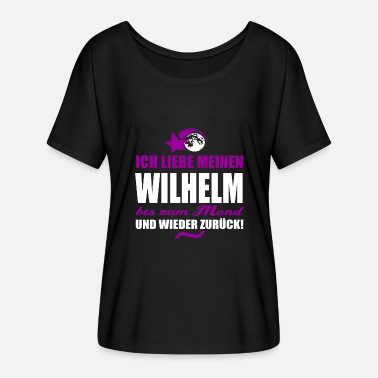Wilhelm I love my WILHELM gift - Women's Batwing-Sleeve T-Shirt by Bella + Canvas