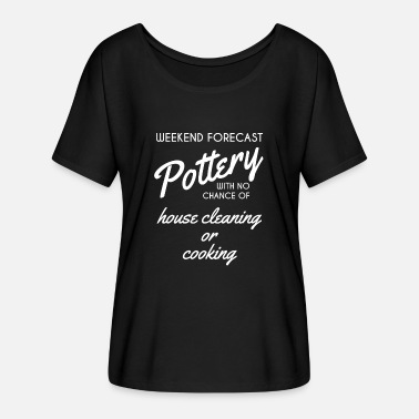 Pottery Pottery - Pottery - Potter - Potter - Gift - Women's Batwing-Sleeve T-Shirt by Bella + Canvas