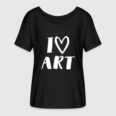 Art School Drawing - Painting - Drawing School - Artists - Art - Women's Batwing-Sleeve T-Shirt by Bella + Canvas