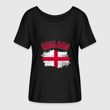 England flag London nation soccer gift country - Women's Batwing-Sleeve T-Shirt by Bella + Canvas