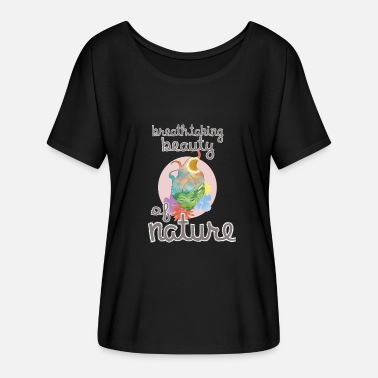 Protection nature save the world save earth protect environment global warming - Women's Batwing-Sleeve T-Shirt by Bella + Canvas