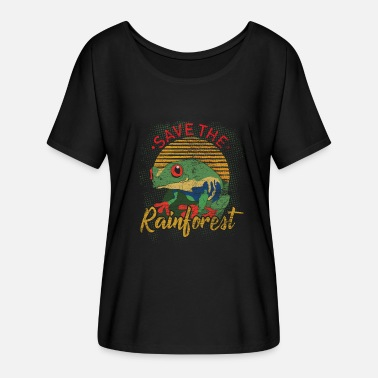 Nature Conservation Rainforest Earth Day Nature Conservation Nature Animals - Women's Batwing T-Shirt