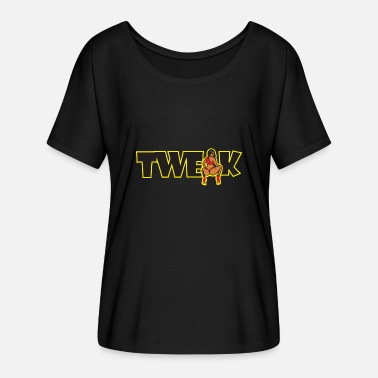 Twerking Twerk Twerk - Women's Batwing-Sleeve T-Shirt by Bella + Canvas