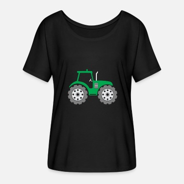 Kids Tractor Tractor kids gift Christmas country - Women's Batwing-Sleeve T-Shirt by Bella + Canvas