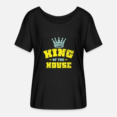 King House King Of The House - Women's Batwing-Sleeve T-Shirt by Bella + Canvas