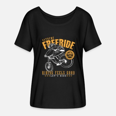 Freerider Freeride - T-shirt manches chauve-souris Femme Bella + Canvas
