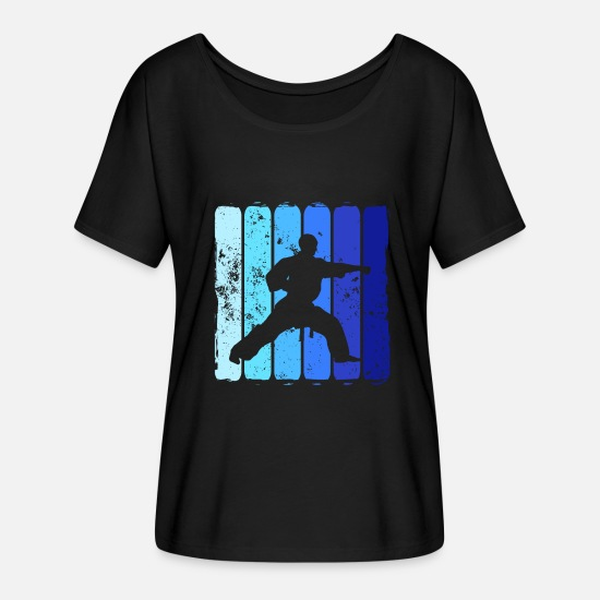 Martial Arts T-Shirts - martial Arts - Women's Batwing T-Shirt black