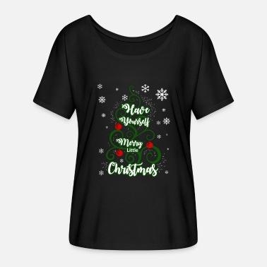 Christmas Sayings Ugly Christmas Christmas Say Xmas Gift - Women's Batwing-Sleeve T-Shirt by Bella + Canvas