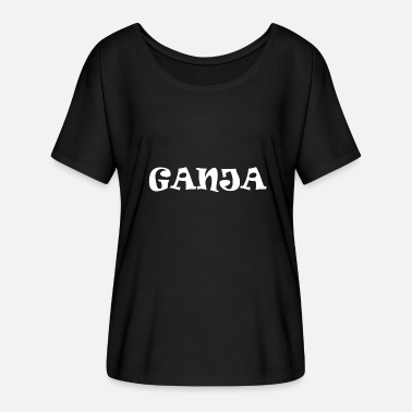 Weed Ganja Ganja weed grass Jamaica - Women's Batwing-Sleeve T-Shirt by Bella + Canvas