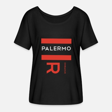 Palermo Palermo Rombaque - Women's Batwing-Sleeve T-Shirt by Bella + Canvas