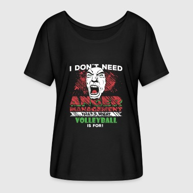 Anger Management. Anger Management - VOLLEYBALL - Women's Batwing-Sleeve T-Shirt by Bella + Canvas