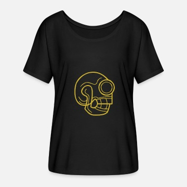 Talisman A talisman in the form of a skull - Women's Batwing-Sleeve T-Shirt by Bella + Canvas