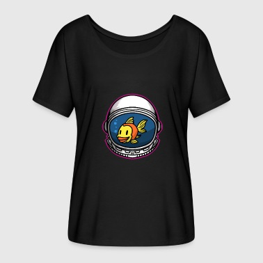 Astronaut Space Gift Spaceship All - Women's Batwing-Sleeve T-Shirt by Bella + Canvas