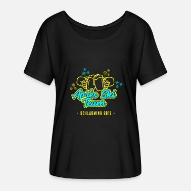 Schladming Après Ski Team Schladming 2018 - Women's Batwing-Sleeve T-Shirt by Bella + Canvas
