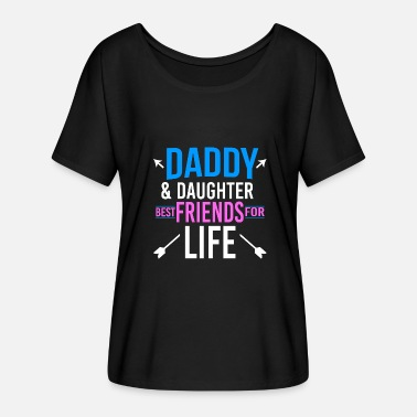 Pastor Dad Shirt Daddy & Daughter Best friends for life Kopie Tee Gift - Women's Batwing-Sleeve T-Shirt by Bella + Canvas