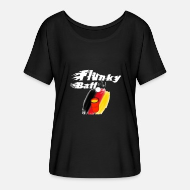 Penalty Flankyball - T-shirt manches chauve-souris Femme Bella + Canvas