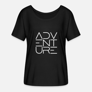 Adventurer ADVENTURE - Adventure - Women's Batwing-Sleeve T-Shirt by Bella + Canvas